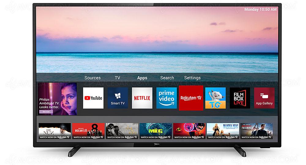 43'' 4K-UHD-LED-Smart TV (108 cm) mit Pixel Precise UHD