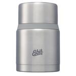 Thermobehälter 'FOOD' mit Löffel, 750 ml, silber-matt